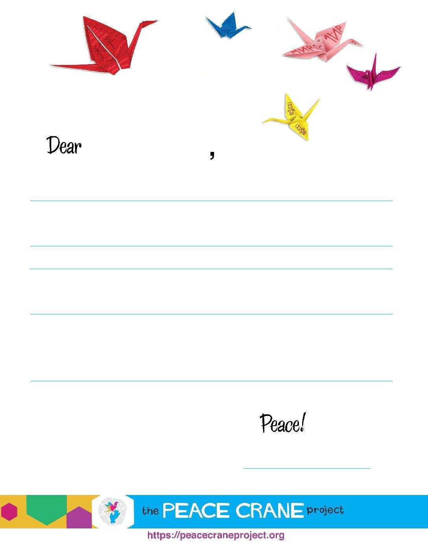 PenPal   Peace Crane Project
